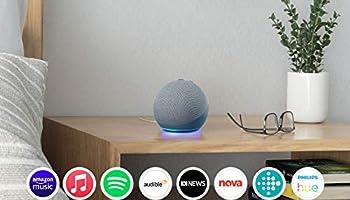 Echo Dot (4th Gen)   Smart speaker with Alexa   Twilight Blue