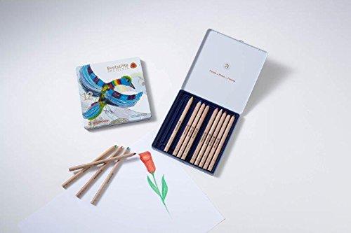 Stockmar Buntstifte, dreieckig, 12 Farben + 1 Graphitstift