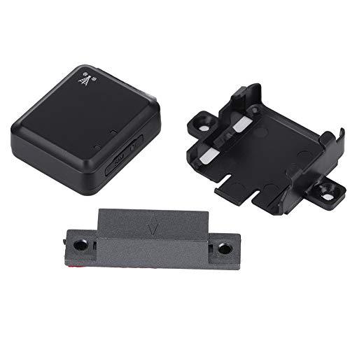Nicoone Alarma de puerta inalámbrica GSM en tiempo real Mini LBS magnética que localiza la cerradura de puerta de seguridad casera