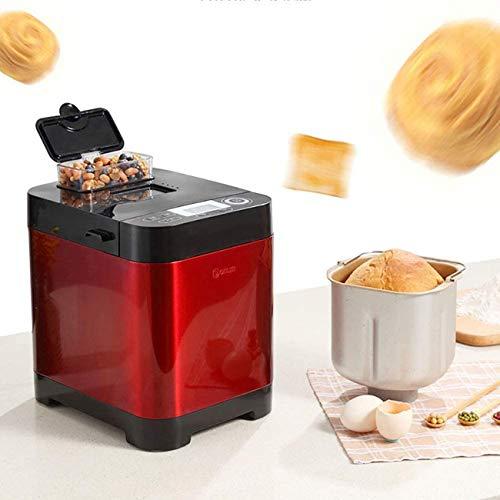 QXue Hogar Inteligente Máquina De Pan,Fabricante De Pan Hecho En Casa,Completamente Automático Fabricante Depan con Dispensador Inteligente