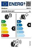 Goodyear 79286 Neumático 225/40 R18 92Y, Eagle F1 Supersport + Xl para Turismo, Verano
