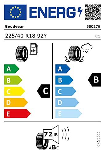 NEUMÁTICO GOODYEAR EAGLE F1 SUPERSPORT 225 40 R18 92Y VERANO TL XL FP C+ VW PARA COCHES