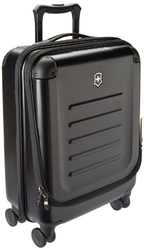Victorinox Spectra 2.0 Dual Access Global Carry-On - Handgepäckkoffer Hartschale Trolley 20x38x55 - Schwarz