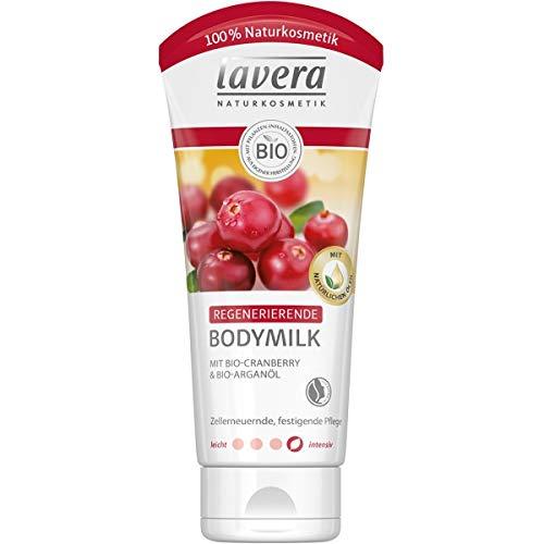 lavera Regenerierende Bodymilk mit Cranberry & Arganöl (200 ml)