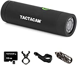 TACTACAM Solo Wi-Fi Hunting Action Camera + Barrel/Scope Mount, Under Scope Rail Mount, Bow Stabilizer Mount and 32GB microSD Card