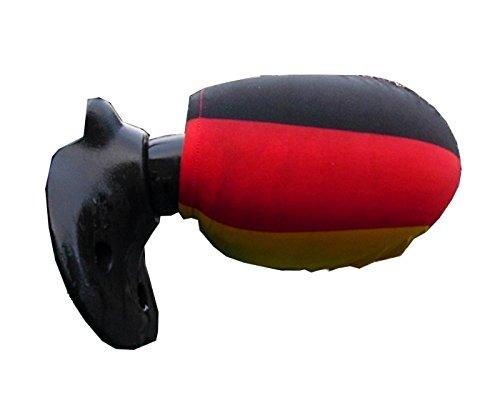 Beco Deutschlandfahne Autospiegel Abdeckung, 2er Set, Überzieher Fanartikel Deutschland Fussball Flagge