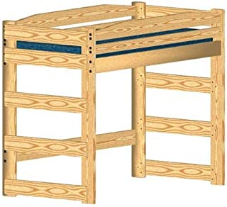 Loft Bed DIY Woodworking Plan to Build Your Own and Hardware Kit Twin Standard (Wood NOT Included)