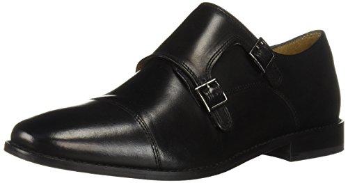 Florsheim Herren Montinaro, Monkstrap-Schuhe, doppelte Schnalle, elegant, schwarz, 39.5 EU