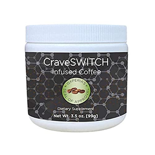 CraveSWITCH Infused Nootropic Arabica Thermogenic Smart Coffee (30 servings)