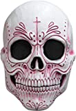 Ghoulish Productions Mexican Catrina Mask,Pink,ST