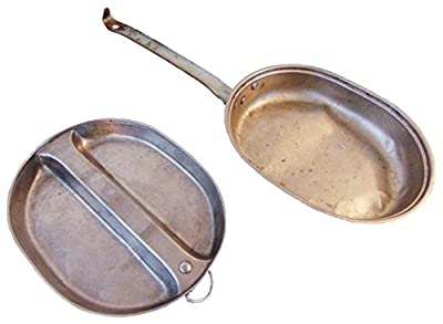 Military Outdoor Clothing Previously Issued 2 Piece Mess Kit
