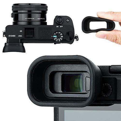 Kiwifotos Augenmuschel Okular für Sony Alpha A6400 A6500 A6600 ersetzt Sony FDA-EP17 Okularmuschel