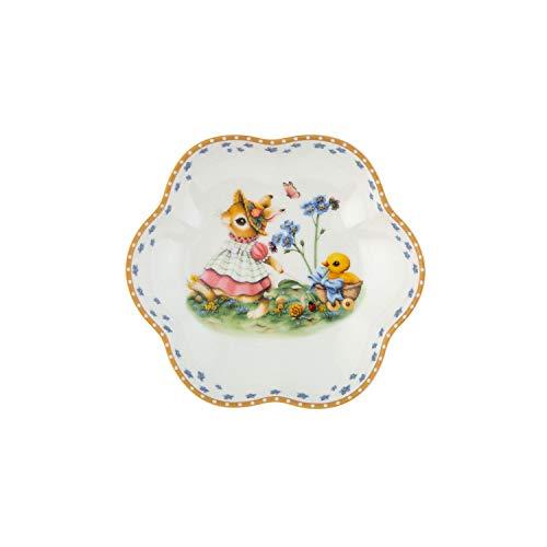 Villeroy & Boch Annual Easter Edition Jahresschale 2020, dekorativer Essteller für Ostern, 16 x 3 cm, Premium Porzellan, bunt, 16x3, Schale