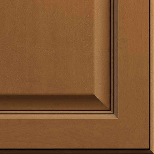 Lily Ann Cabinets Quarter Size Door Sample for Kitchen Wall and Base Cabinets (Madison Toffee)