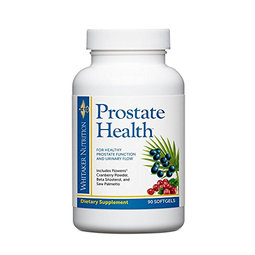 Dr. Whitaker's Prostate Health with Saw Palmetto Extract, Flowens Cranberry...