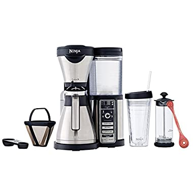 Ninja Coffee Bar Brewer, Thermal Carafe (CF087) with Bonus Exotic PakkaWood Coffee Scoop