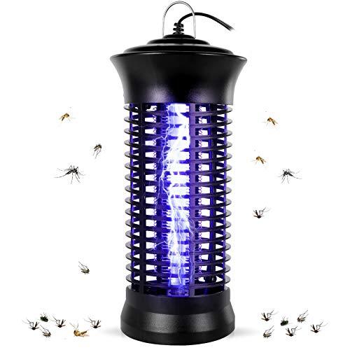 Feizhibo Lampe Anti-Moustique, UV Moustique Tueur Lampe, Électrique Tueur de Moustique Tueur D'insectes Mouches Piège Anti Insecte Zapper pour Maison et Jardin