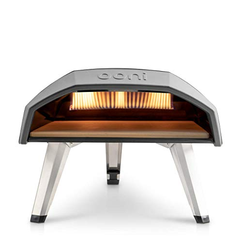 Ooni Koda 12 Gas Pizza Oven – Award Winning Outdoor Pizza Oven – Portable Gas Pizza Oven For Authentic Stone Baked Pizzas – Great Addition For Any Outdoor Kitchen