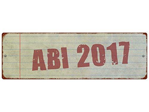 Interluxe kunststof bord met zuignap ABI 2017 stempel eindexamencadeau auto decoratie shabby