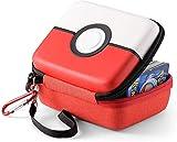 Estuche de transporte para Pokémon Trading Cards, la caja de almacenamiento rígida se adapta a Yugioh, Magic MTG Cards y Pokémon, tiene más de 400 cartas