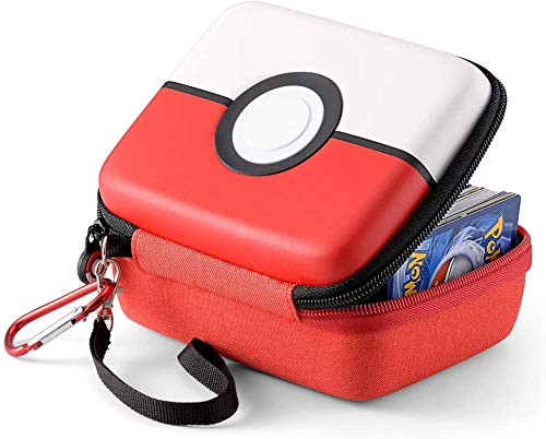 Estuche de transporte para Pokémon Trading Cards, la caja de almacenamiento rígida se adapta a Yugioh, Magic MTG Cards y Pokemon, tiene más de 400 cartas