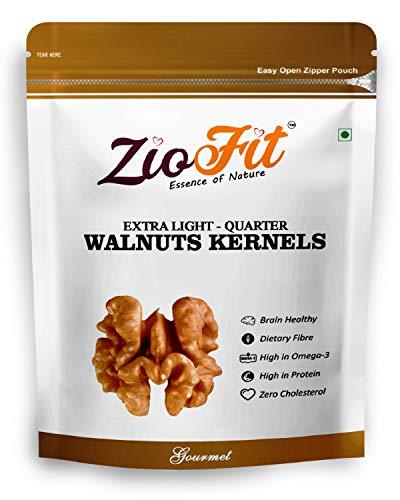 Ziofit Walnut Kernels Extra Light Quarters, 250g