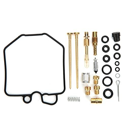 Kit de reparación de carburador, previene eficazmente las fugas, reacondicionamiento del carburador, práctico kit de mantenimiento de carburador para reparar carburador de motocicleta