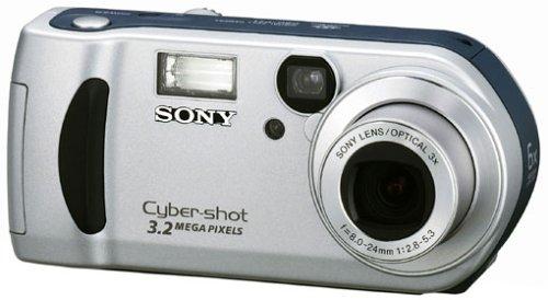 Sony Cyber-Shot DSC-P71 Digitalkamera (3,3 Megapixel)