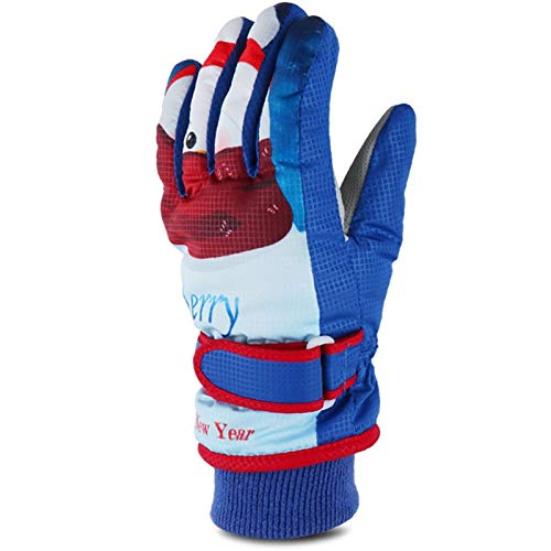Gloves Ultrasport Advanced Rocky Gants de Ski Enfant, Vent Respirant Ski Snowboard Running Moto Vélo Randonnée Camping Femme Homme Enfant