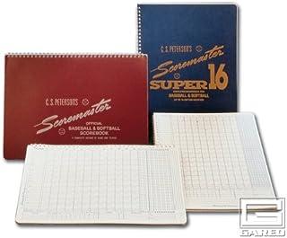 Gared Peterson`s Baseball Super Scoremaster 16 Scorebook - Set of 12