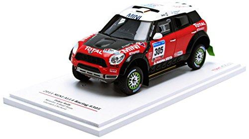 Truescale Miniatures - Tsm114351 - Véhicule Miniature - Modèle À L'échelle - Mini All4 Racing - Dakar 2011 - Echelle 1/43