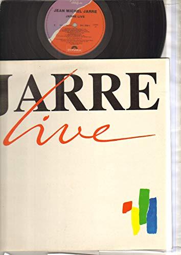 JEAN MICHEL JARRE - JARRE LIVE - LP vinyl record