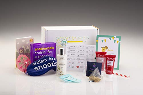 Pregnancy Gift Box - Second Trimester Gift for Mum to be. Pregnancy Pamper Package Maternity Gift from Baboo Box.