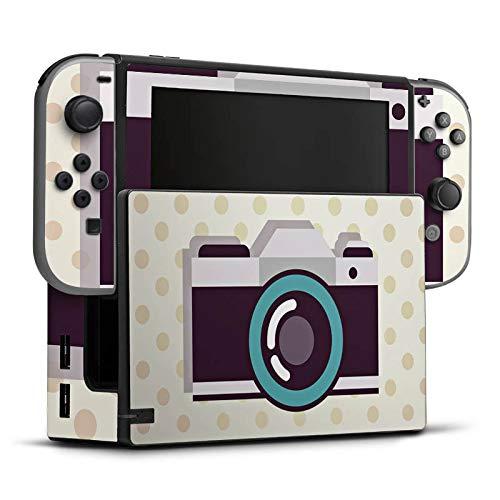 DeinDesign Skin Aufkleber Sticker Folie für Nintendo Switch Kamera Symbol Linse
