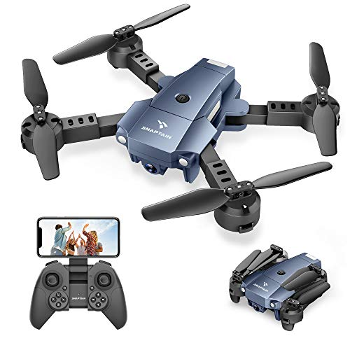 SNAPTAIN A10 Mini Foldable Drone with 1080P HD Camera FPV WiFi RC...
