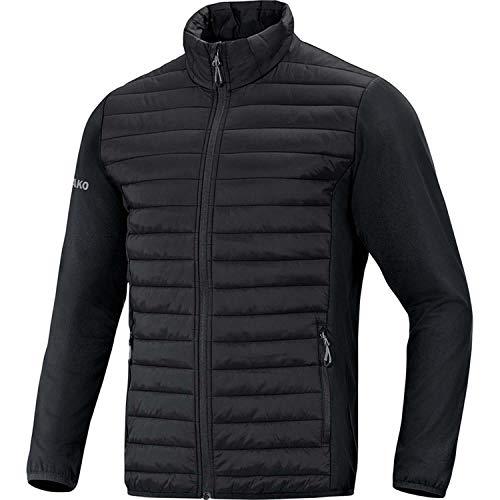 JAKO Herren Hybridjacke Premium Sonstige Jacke, schwarz, M