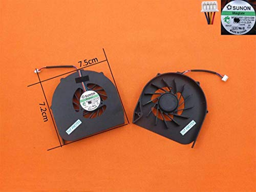 Kompatibel für Acer Aspire 5740 5740G 5741 5741G 5542 Lüfter Kühler Fan Cooler 4PIN Version