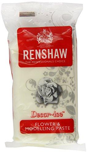 Renshaw Fondant Blumen- & Modellierpaste, weiß, 250g