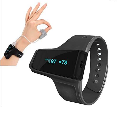 GL Oximeter Handgelenks-Pulsoximeter Drahtlose Bluetooth-Funktion Überwachung der Sauerstoffsättigung Herzfrequenz Atmungsschlafüberwachung Hohe Präzision und Qualität