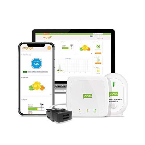 Efergy Engage HUB Classic, HUB di Monitoraggio del Consumo di Energia, Bianco