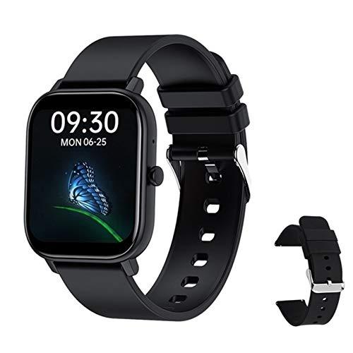 ZGLXZ Bluetooth Call Smart Watch para Hombres Y Mujeres con Ritmo Cardíaco con Pantalla De 1,6 Pulgadas Y Control Remoto De Presión Arterial Selfie, Monitoreo De La Salud,F