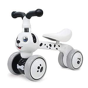 YGJT Bicicletas sin Pedales para niños 1 Año(10-36 Meses) Triciclos Bebes Correpasillos Juguetes Regalos bebé Bici sin Pedales niño
