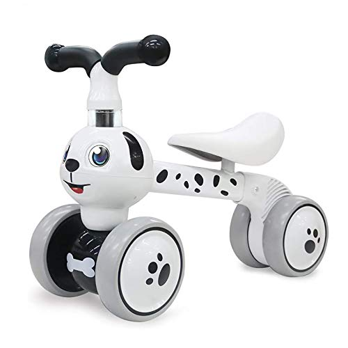 YGJT Laufrad ab 1 Jahr ohne Pedale | Kinder Spielzeug für 10 - 36 Monate Junglen und Mädchen | Rutschrad Baby Fahrrad Geschenk für Ersten Geburtstag Neu Jahr