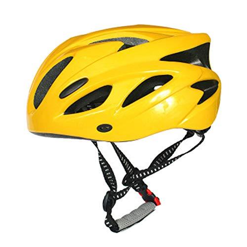 YWZQ Casco para Bicicletas, Caja Ajustable Montaña Ruta Ciclo Casco Luz De...