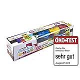 Dokado Creative Kids Knete-Set 5 Farben mit je Knetmasse Modellierknete Softknete Spielknete