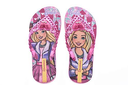Ipanema Barbie Princesa INF, Chanclas, Pink/Pink Metallic, 29 EU