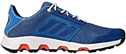 adidas Men's Terrex Climacool Voyager Trekking & Hiking Loafers, Gray (Rawste / Cblack / Greone Rawste / Cblack / Greone), 49 1/3 EU