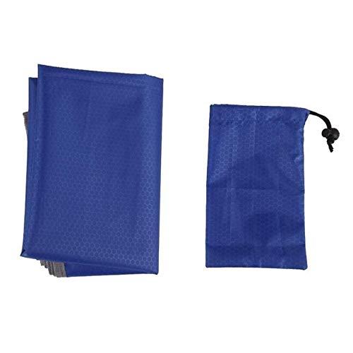 IENPAJNEPQN Pratique 5 Nylon Couleur de Pique-Nique Tissu Multifonction Tente Tissu Ombre Canopy extérieur Voyage Beach Mat Durable (Color : Royal Blue)