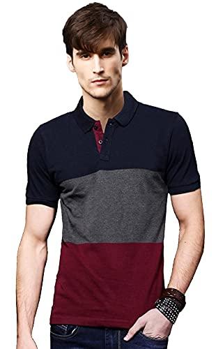 LEOTUDE Regular Fit Half Sleeve Polo Men's T-Shirt