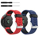 kitway Compatible con Forerunner 235 Correa de Reloj, Banda de Reemplazo Silicona Suave Sports Pulsera para Forerunner 235/220/230/620/630/735XT Smart Watch